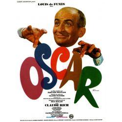 Affiche film Oscar (de Édouard Molinaro avec Louis de Funès)