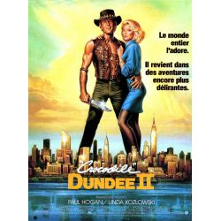 Affiche film Crocodile Dundee 2 (Paul Hogan)