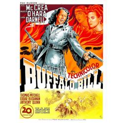 Affiche film Buffalo Bill (de William A. Wellman)