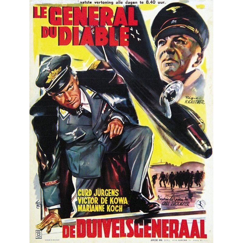 Affiche film Le Général du Diable (Kurt Jurgens)