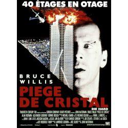 Affiche film Die Hard 1 - Piège de Cristal (Bruce Willis)