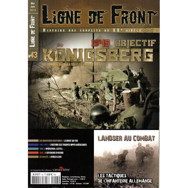 Ligne de Front n° 43 - 1945 Objectif Konigsberg, La conquête de la Prusse Orientale