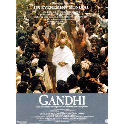 Affiche film Gandhi (de Richard Attenborough)