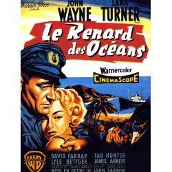 Affiche film Le Renard des Océans (John Wayne, Lana Turner)