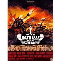 Affiche film La Bataille des Ardennes (Henry Fonda, Robert Shaw, Robert Ryan)