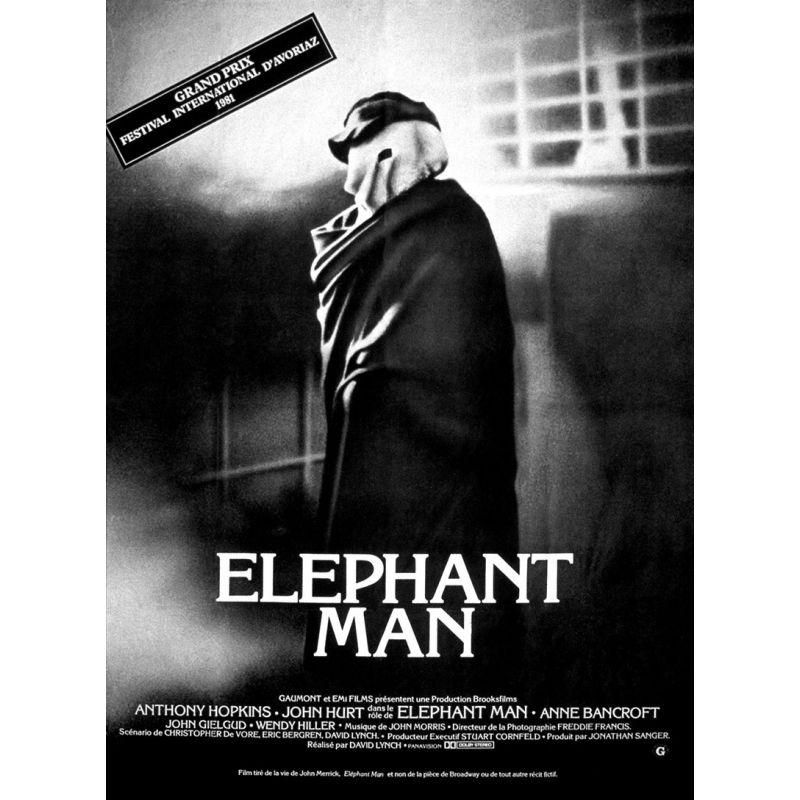 Affiche film Elephant Man (David Lynch)
