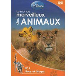 Monde merveilleux des Animaux (Disney) n° 1 - Lions et Singes - DVD Zone 2