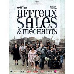 Affiche film Affreux, Sales et Méchants