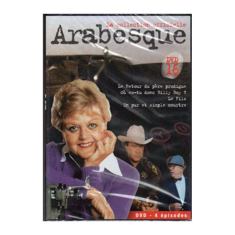 Arabesque - DVD n° 16 de la Collection officielle - DVD Zone 2