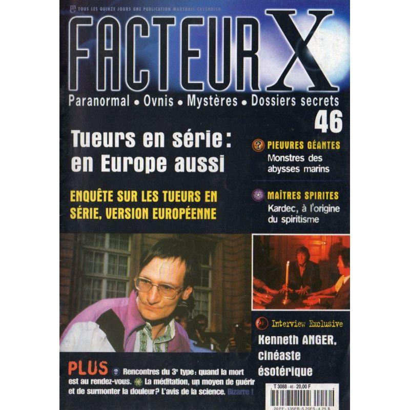 Facteur X - n° 46 - Tueurs en série : en Europe aussi