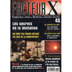 Facteur X - n° 45 - Les secrets de la lévitation