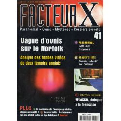 Facteur X - n° 41 - Vague d'Ovnis sur le Norfolk
