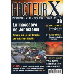 Facteur X - n° 39 - Le Massacre de Jonestown