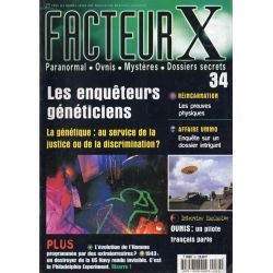 Facteur X - n° 34 - Les enquêteurs généticiens