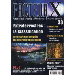 Facteur X - n° 33 - Extraterrestres : la classification