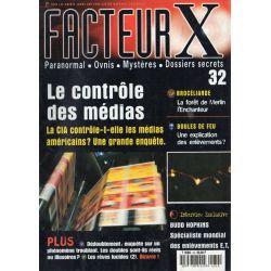Facteur X - n° 32 - Le contrôle des médias