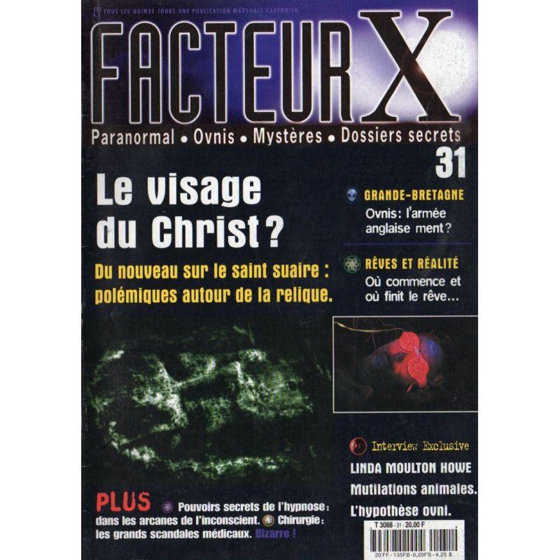 Facteur X - n° 31 - Le visage du Christ ?