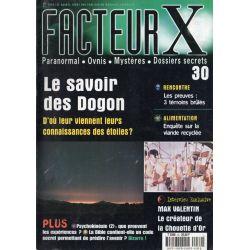 Facteur X - n° 30 - Le savoir des Dogons