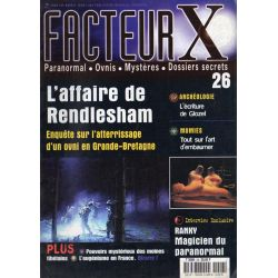 Facteur X - n° 26 - L'affaire de Rendlesham