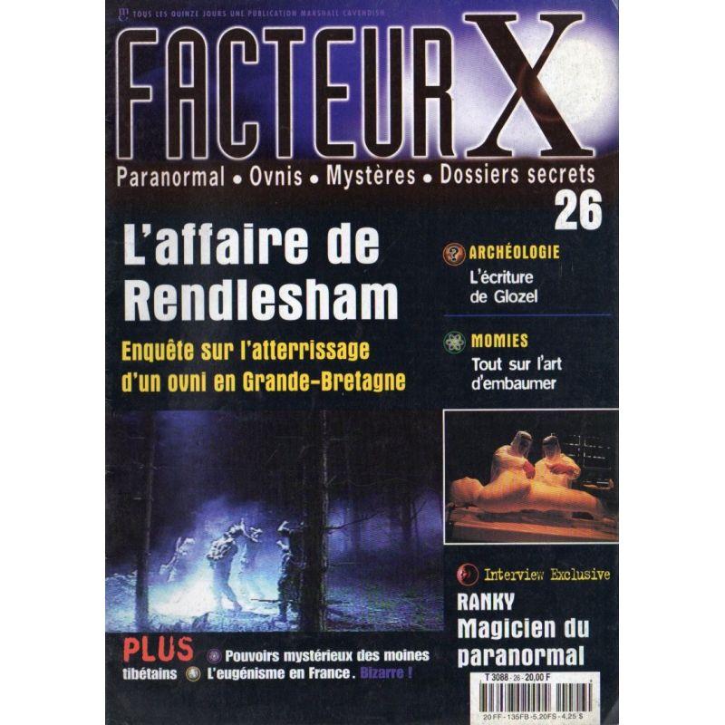 Facteur X - n° 26 - L'affaire de Rendlesham