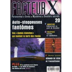 Facteur X - n° 20 - Auto-stoppeuses fantômes, les dames blanches