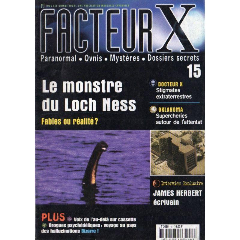 Facteur X - n° 15 - Le monstre du Loch Ness, fables ou réalité ?
