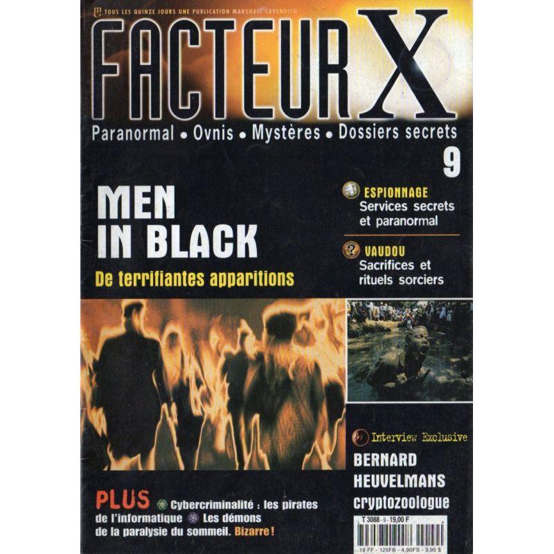Facteur X - n° 9 - Men In Black, de terrifiantes apparitions