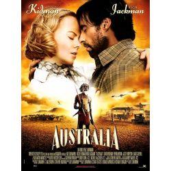 Affiche film Australia (Nicole Kidman et Hugh Jackman)