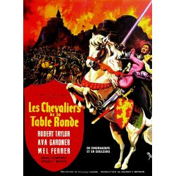 Affiche film Les Chevaliers de la Table Ronde (de Richard Thorpe)