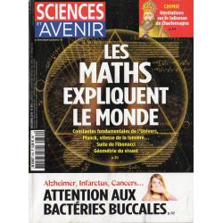 Sciences et Avenir n° 874 - Les Maths expliquent le monde