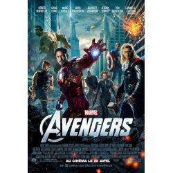 Affiche Film Avengers 2012