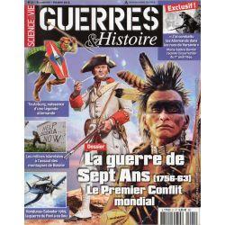 Guerres & Histoire n° 21 - La guerre de Sept Ans (1756-1763) Le premier conflit mondial - Octobre 2014