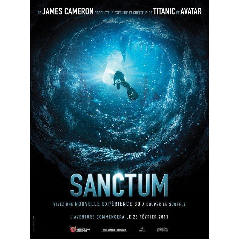 Affiche film Sanctum (de Alister Grierson)