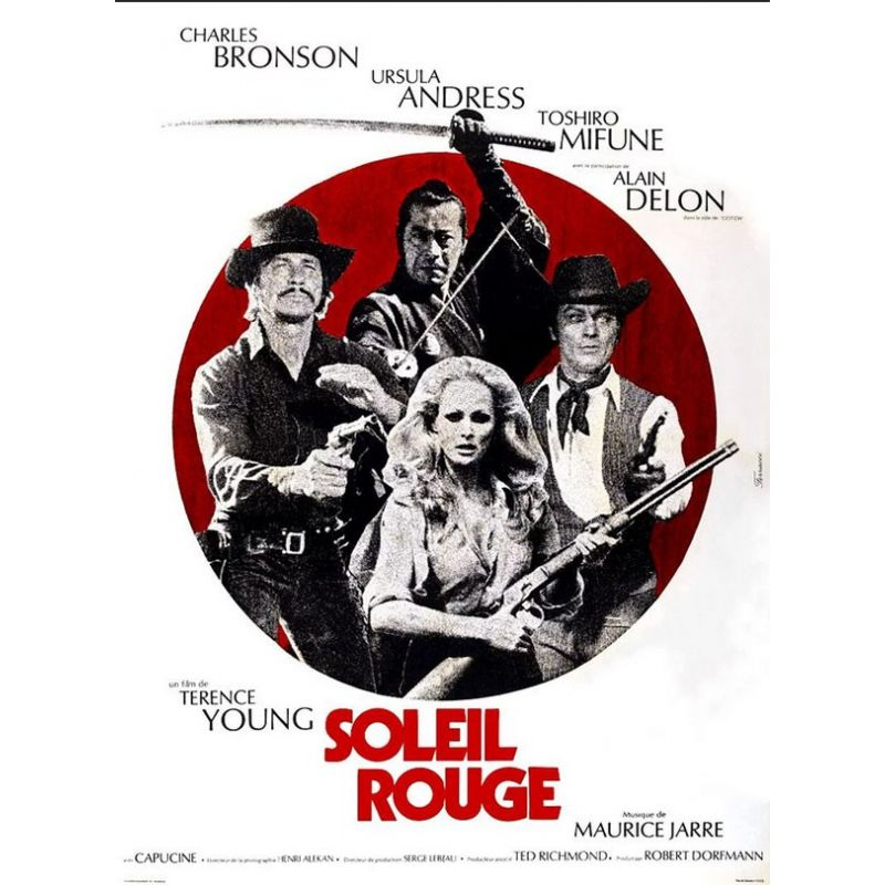 Affiche film Soleil Rouge (de Terence Young)