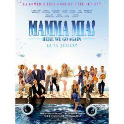 Affiche film Mamma Mia ! (avec Meryl Streep)