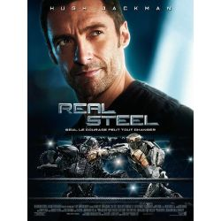 Affiche film Real Steel (avec Hugh Jackman)