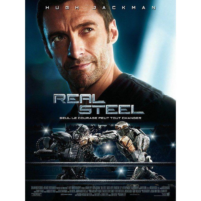 Affiche film Real Steel (avec Hugh Jackman)