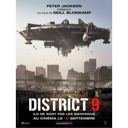 Affiche film District 9 (de Neill Blomkamp)