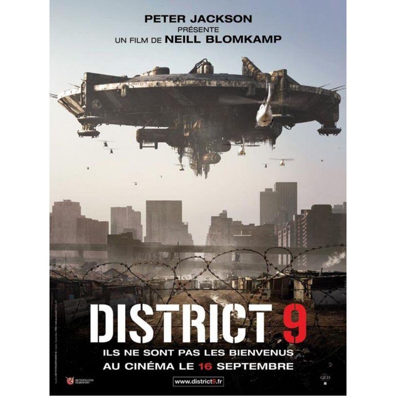 Affiche film District 9 (de Neill Blomkamp)