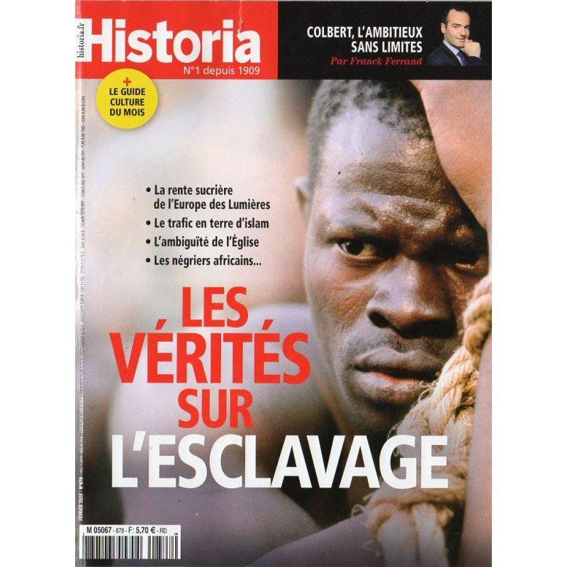 Historia n° 878 - Les vérités sur l'esclavage