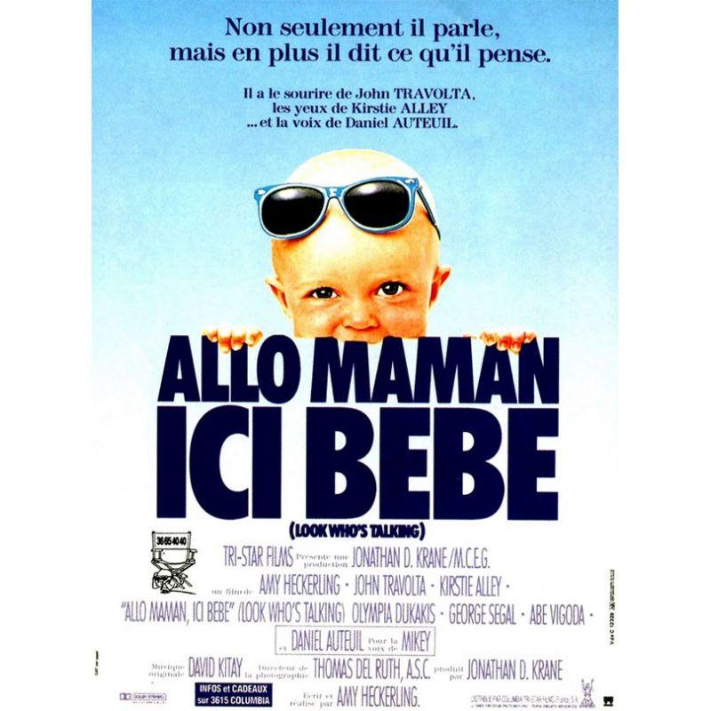 Affiche film Allo Maman ici bébé (de Amy Heckerling)
