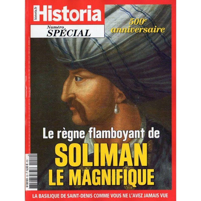 Historia Spécial n° 52 - Le règne flamboyant de Soliman le magnifique