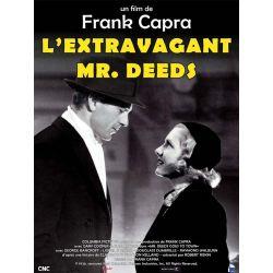 Affiche film Affiche film L'Extravagant Mr. Deeds (de Frank Capra)