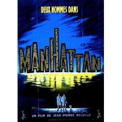 Affiche film Deux hommes dans Manhattan