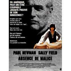Affiche film Absence de Malice (de Sydney Pollack)