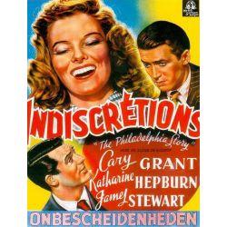 Affiche film Indiscrétions (de George Cukor)
