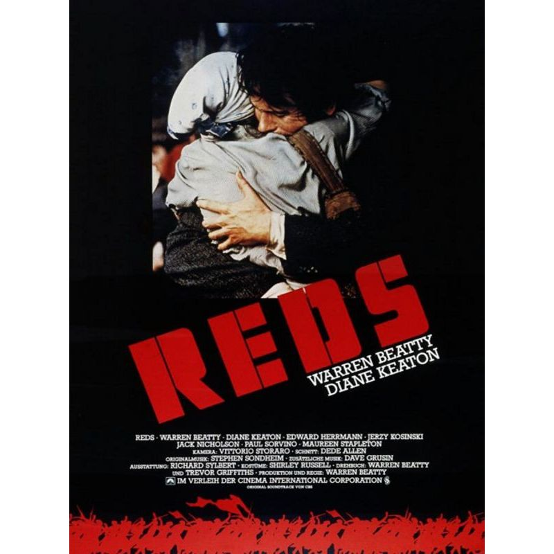 Affiche film Reds (de Warren Beatty)