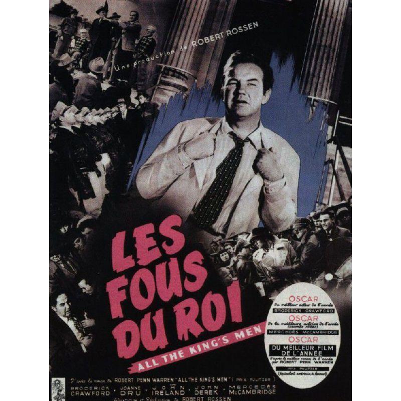 Affiche film Les Fous du Roi (de Robert Rossen)