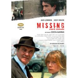 Affiche film  Porté disparu (de Costa-Gavras)
