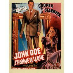 Affiche film L'Homme de la rue (de Frank Capra)
